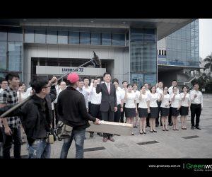 Behind the scenes – Phim giới thiệu WooriBank Việt Nam