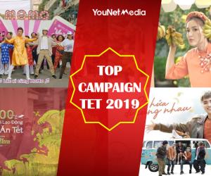 Điểm lại Top 10 chiến dịch thương hiệu nổi bật nhất trên mạng xã hội mùa Tết 2019