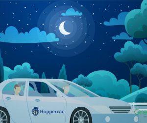 2D Animation – Hoppercar – Dịch vụ thuê xe ôtô chuyên nghiệp