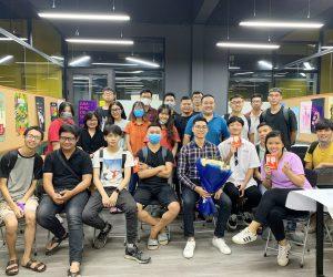 """Creative Director Mr.Hưng tham dự """"Học cùng doanh nghiệp"""" tại Arena"""